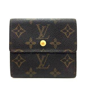 Auth Louis Vuitton Portefeiulle Elise #1013L47